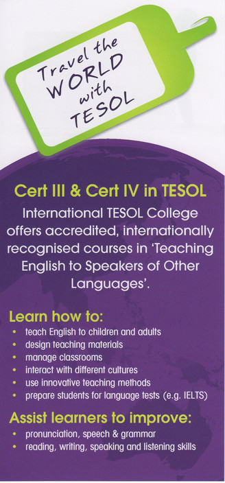 International TESOL College - Melbourne School